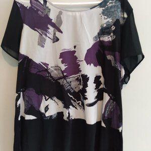 Ricki's XXL patterned blouse
